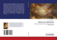 Bookcover of Dance as a Discourse