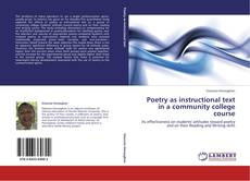 Bookcover of Poetry as instructional text in a community college course