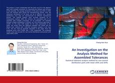 Buchcover von An Investigation on the Analysis Method for Assembled Tolerances
