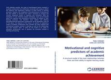 Buchcover von Motivational and cognitive predictors of academic achievement