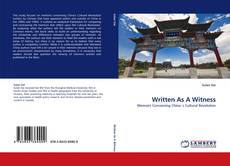 Buchcover von Written As A Witness