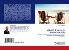 Bookcover of Vitamin D status in Adolescent Girls