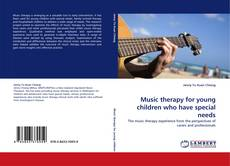 Buchcover von Music therapy for young children who have special needs