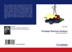 Borítókép a  Strategic Business Analysis - hoz