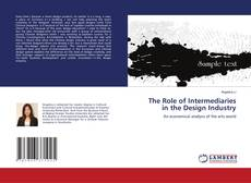 Capa do livro de The Role of Intermediaries in the Design Industry