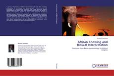 Buchcover von African Knowing and Biblical Interpretation