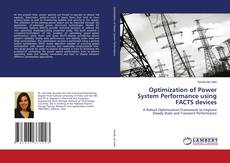 Capa do livro de Optimization of Power System Performance using FACTS devices