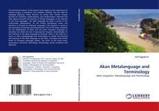 Capa do livro de Akan Metalanguage and Terminology