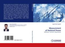 Bookcover of Measurement of National Power