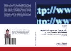 Couverture de High Performance Electronic Lecture Service via WWW