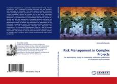 Bookcover of Risk Management in Complex Projects