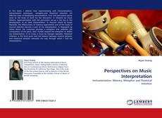 Perspectives on Music Interpretation kitap kapağı
