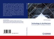 Bookcover of Technology in Architecture