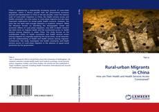 Couverture de Rural-urban Migrants in China