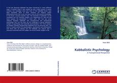 Bookcover of Kabbalistic Psychology