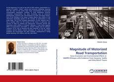 Magnitude of Motorized Road Transportation kitap kapağı