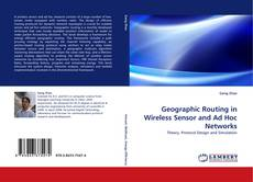 Portada del libro de Geographic Routing in Wireless Sensor and Ad Hoc Networks