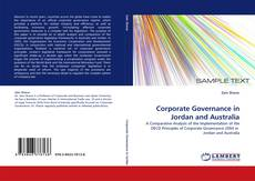 Copertina di Corporate Governance in Jordan and Australia