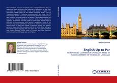 Bookcover of English Up to Par