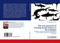 Portada del libro de Role and application of Ontology Design Patterns in bio-ontologies