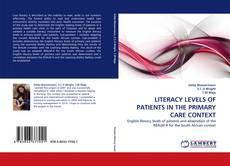 Обложка LITERACY LEVELS OF PATIENTS IN THE PRIMARY CARE CONTEXT