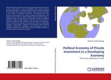 Portada del libro de Political Economy of Private Investment in a Developing Economy