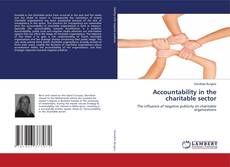 Capa do livro de Accountability in the charitable sector