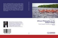 Portada del libro de African Philosophy in the Global Village