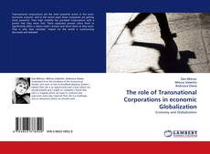 Обложка The role of Transnational Corporations in economic Globalization