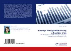 Buchcover von Earnings Management during a financial crisis