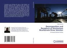 Portada del libro de Decomposition and Recapture of Ammonium Bicarbonate Draw Solution