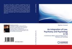 Portada del libro de An Integration of Law, Psychiatry and Psychology in SA