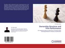 Ownership Structure and Firm Performance kitap kapağı