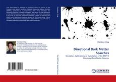 Directional Dark Matter Searches kitap kapağı