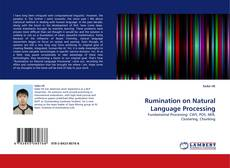 Bookcover of Rumination on Natural Language Processing