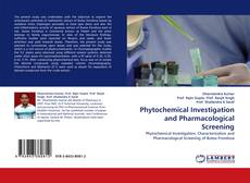Buchcover von Phytochemical Investigation and Pharmacological Screening