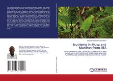 Bookcover of Nutrients in Musa and Manihot from IITA