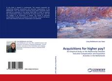 Bookcover of Acquisitions for higher pay?
