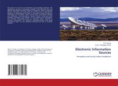 Bookcover of Electronic Information Sources