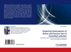 Capa do livro de Exploring Antecedents of Active and Passive Use of Classified websites