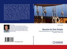 Capa do livro de Become As One People