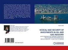 Capa do livro de HCOCAs AND SECURITY OF INVESTMENTS IN OIL AND GAS INDUSTRY