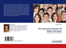 Couverture de The Internationalisation Of Higher Education
