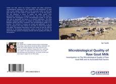 Capa do livro de Microbiological Quality of Raw Goat Milk