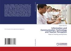 Buchcover von Information and Communication Technology and Teacher Perception