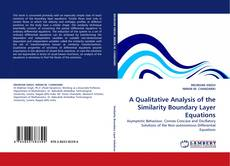 Couverture de A Qualitative Analysis of the Similarity Boundary Layer Equations