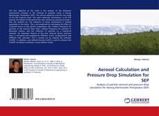 Capa do livro de Aerosol Calculation and Pressure Drop Simulation for SEP