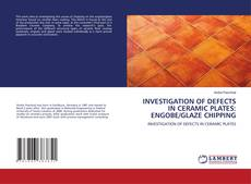 Bookcover of INVESTIGATION OF DEFECTS IN CERAMIC PLATES: ENGOBE/GLAZE CHIPPING
