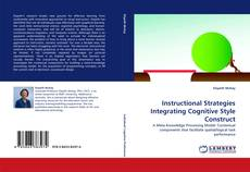 Copertina di Instructional Strategies Integrating Cognitive Style Construct