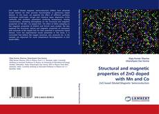 Copertina di Structural and magnetic properties of ZnO doped with Mn and Co